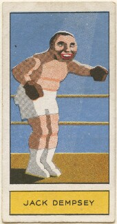 Jack Dempsey, by Unknown artist, issued by  Godfrey Phillips - NPG D2692