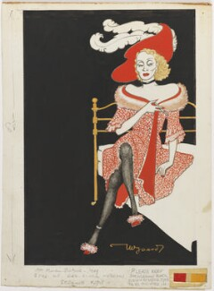 Marlene Dietrich, by Anthony Wysard - NPG D270