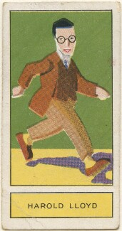 Harold Lloyd, by Unknown artist, issued by  Godfrey Phillips - NPG D2713