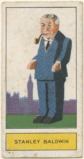 Stanley Baldwin, 1st Earl Baldwin, by Unknown artist, issued by  Godfrey Phillips, 1932 - NPG D2716 - © National Portrait Gallery, London