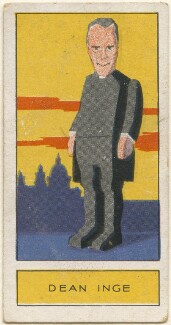 William Ralph Inge, by Unknown artist, issued by  Godfrey Phillips, 1932 - NPG D2724 - © National Portrait Gallery, London