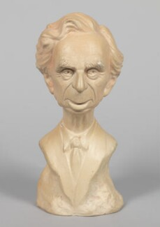 Bertrand Russell, by Geoffrey Davien, 1963 - NPG  - Photograph © National Portrait Gallery, London