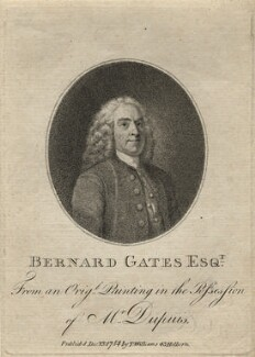Bernard Gates, after Unknown artist - NPG D2750