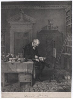 Davies Gilbert, by E.F.H., printed by  Jérémie Graf, early 19th century - NPG D2768 - © National Portrait Gallery, London