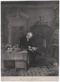 Davies Gilbert, by E.F.H., printed by  Jérémie Graf - NPG D2768