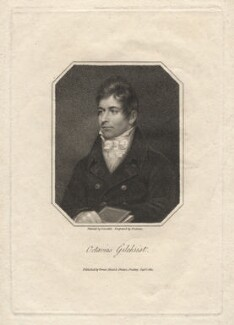 Octavius Graham Gilchrist, by Samuel Freeman, published by  Vernor, Hood & Sharpe, after  James Lonsdale - NPG D2772