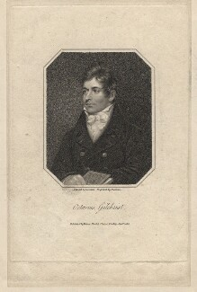 Octavius Graham Gilchrist, by Samuel Freeman, published by  Vernor, Hood & Sharpe, after  James Lonsdale - NPG D2773