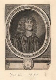 Joseph Glanvill (Glanville), by William Faithorne - NPG D2777