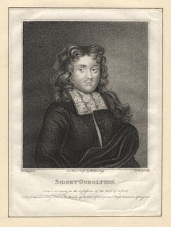 Sidney Godolphin, by R. Clamp, published by  E. & S. Harding, after  Silvester Harding, or after  Edward Harding - NPG D2785