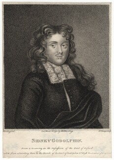 Sidney Godolphin, by R. Clamp, published by  E. & S. Harding, after  Silvester Harding, or after  Edward Harding - NPG D2786
