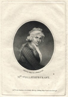 Mary Wollstonecraft, by William Ridley, published by  Thomas Bellamy, after  John Opie, published 1 February 1796 - NPG D2787 - © National Portrait Gallery, London
