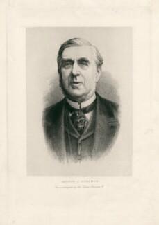 George Joachim Goschen, 1st Viscount Goschen, after Unknown photographer - NPG D2791