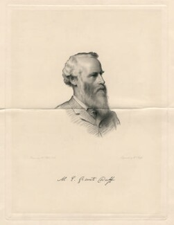 Sir Mountstuart Elphinstone Grant-Duff, by William Roffe, after  Henry Tanworth Wells - NPG D2796