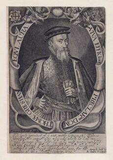 Sir Thomas Gresham, by Francis Delaram, after  Unknown artist - NPG D2811