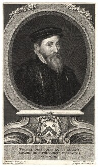 Sir Thomas Gresham, by George Vertue, after  Anthonis Mor (Antonio Moro) - NPG D2812