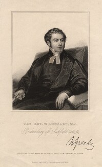 William Gresley, by Richard Smith, published by  James Hayward & Co, after  James Pardon - NPG D2813