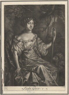 Catherine Grey (née Ford), Lady Grey of Warke, after Sir Peter Lely - NPG D2819