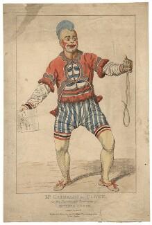 Joseph Grimaldi, published by Samuel De Wilde - NPG D2820