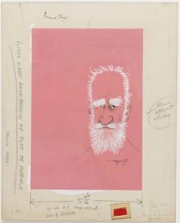 George Bernard Shaw, by Anthony Wysard - NPG D283