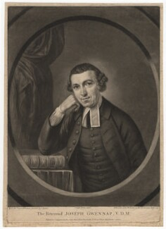 Joseph Gwennap, by Richard Houston, after  John Russell - NPG D2830