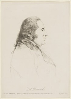 George Legge, 3rd Earl of Dartmouth, by William Daniell, after  George Dance - NPG D2845