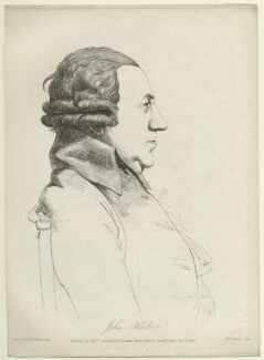 John Hoole, by and published by William Daniell, after  George Dance - NPG D2846