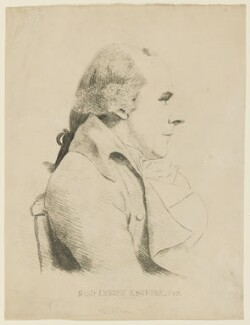 Samuel Lysons, by William Daniell, after  George Dance - NPG D2847