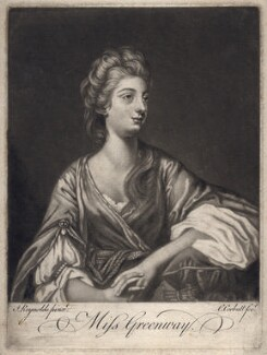 Elizabeth Napier (née Greenway), by Richard Purcell (H. Fowler, Charles or Philip Corbutt), after  Sir Joshua Reynolds - NPG D2894
