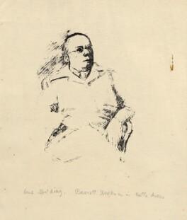 Barnett Freedman, by Anne Spalding - NPG D2899