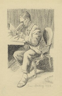 John Michael Kenneth Spalding, by Anne Spalding - NPG D2901