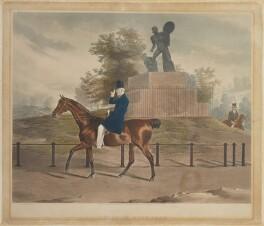 Arthur Wellesley, 1st Duke of Wellington ('A View in Hyde Park'), by John Harris, after  Henry de Daubrawa - NPG D2905
