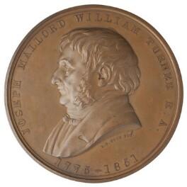 J.M.W. Turner, by Leonard Charles Wyon, after  Daniel Maclise - NPG D2929