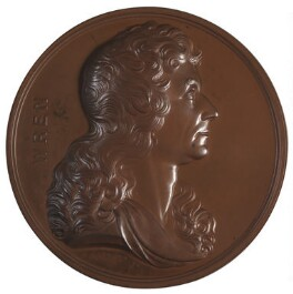 Sir Christopher Wren, by W. Wilson, after  Edward Pearce - NPG D2934