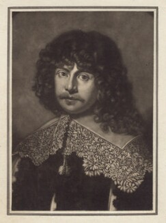 James Harrington, by Giuseppe Filippo Liberati ('Joseph') Marchi - NPG D2951