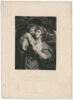 Elizabeth Hartley (née White), by Samuel William Reynolds, after  Sir Joshua Reynolds - NPG D2955