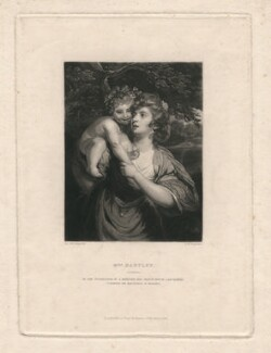Elizabeth Hartley (née White), by Samuel William Reynolds, after  Sir Joshua Reynolds - NPG D2962