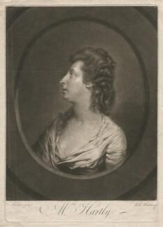 Elizabeth Hartley (née White), by Richard Houston, after  Hugh Douglas Hamilton - NPG D2963