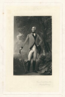 Francis Rawdon-Hastings, 1st Marquess of Hastings, by George Sanders, after  Thomas Gainsborough - NPG D2964
