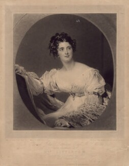 Hyacinthe Mary Littleton (née Wellesley), Lady Hatherton, by Charles Turner, published by  Colnaghi, Son & Co, after  Sir Thomas Lawrence - NPG D2969