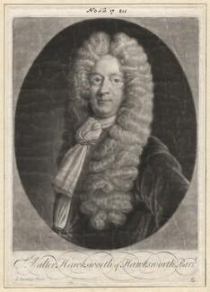 Sir Walter Hawksworth, 2nd Bt, by George Lumley, after  Unknown artist - NPG D2975