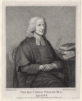 John Wesley, by William Nelson Gardiner, published by  Edward Harding, after  Silvester (Sylvester) Harding - NPG D2978