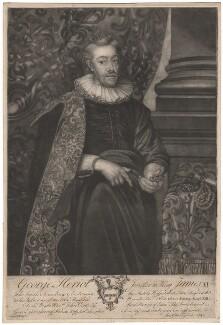George Heriot, by John and Charles Esplens, after  Paul van Somer - NPG D2988
