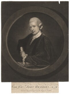 John Herries, by Richard Read, published by  Henry Bryer, after  David Martin - NPG D2990