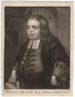 Thomas Hearne, after Peter Tillemans - NPG D2994