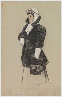 Sarah Bernhardt, by (J.?) Lomering - NPG D30