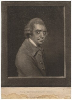 John Henderson, published by J. Wingrave - NPG D3002