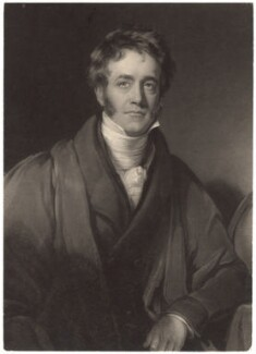 Sir John Frederick William Herschel, 1st Bt, by William James Ward, after  Henry William Pickersgill - NPG D3015