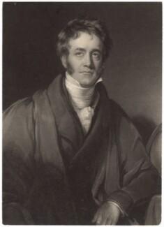 Sir John Frederick William Herschel, 1st Bt, by William James Ward, after  Henry William Pickersgill, published 1835 - NPG D3015 - © National Portrait Gallery, London