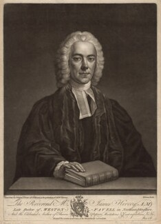 James Hervey, by John Dixon, published by  John Bowles, after  John Michael Williams - NPG D3016