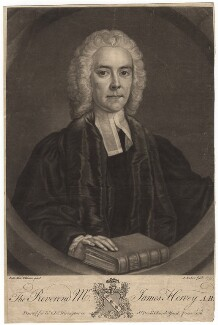 James Hervey, by John Faber Jr, published by  John Rivington, and published by  James Rivington, after  John Michael Williams - NPG D3017